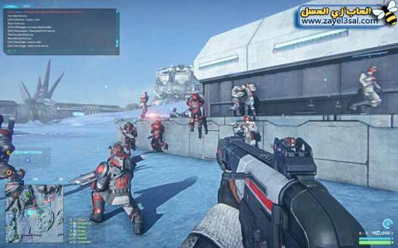 لعبة Planetside 2 Online أون لاين أكشن و أطلاق النار مع الشرح الكامل