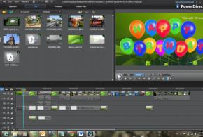 تحميل برنامج صنع الافلام و المونتاج CyberLink PowerDirector 10 احدث اصدار ، تحرير الفيديو