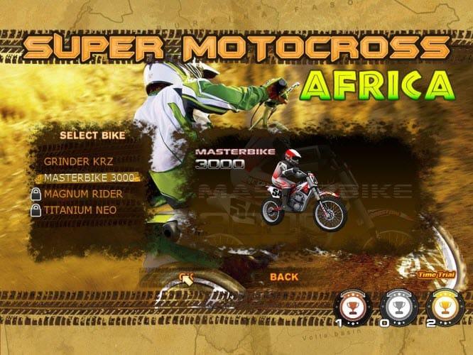 تحميل لعبة الموتوسيكلات Super Motocross Africa سوبر موتو افريقيا مجانا