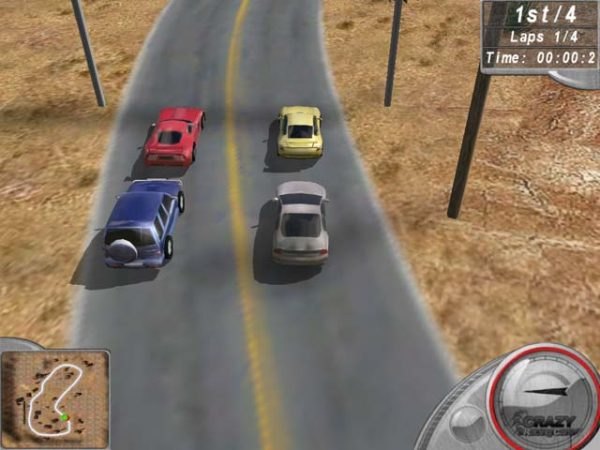 تحميل لعبة سباق السيارات المجنون