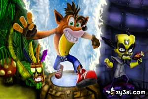 لعبة كراش بانديكوت Crash Bandicoot القديمة