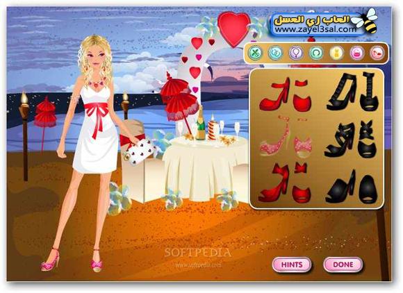 free download Valentine Romantic Dinner DressUp girls games