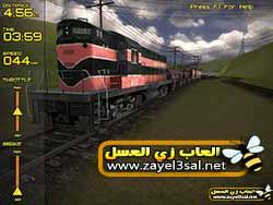 تحميل لعبة محاكاة قياده قطار البضائع الحقيقي Freight Train Simulator 3D مجانا