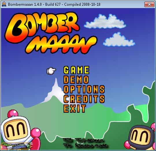 تحميل لعبة رجل القنابل Bombermaaan القديمة علي الكمبيوتر لمحبي الالعاب الخفيفة