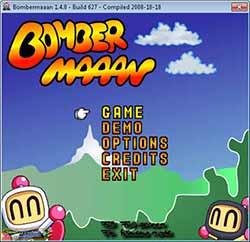 لعبة رجل القنابل Bombermaaan القديمة