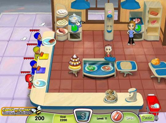 لعبة المطعم Cooking Dash