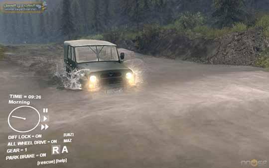 تحميل لعبة عربيات نقل البضائع Spintires لعبة قياده الشاحنات كاملة للكمبيوتر