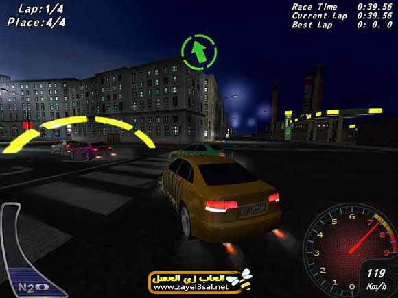 تحميل لعبة سباق الشارع Night Street Racing مجانا