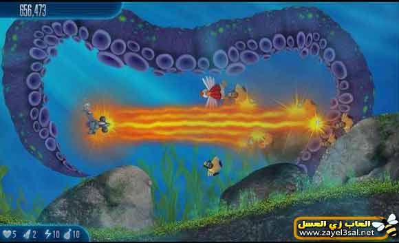 لعبة حرب الفراخ Chicken Invaders 5 غزو الدجاج