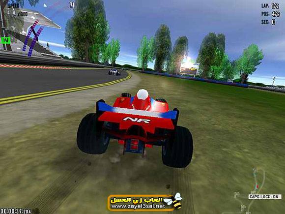 لعبة سيارات فورمولا سباق الجائزة الكبرى
