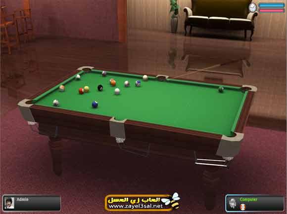 لعبة البلياردو Poolians Real Pool 3D أون لاين