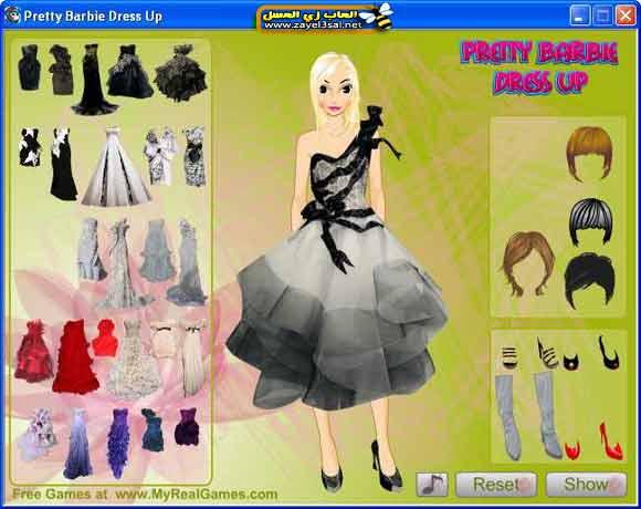 Pretty-Barbie-DressUp-girl-game-2