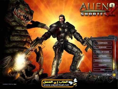 تحميل لعبة Alien Shooter 2 أكشن ومغامرة و أطلاق النار على الوحوش كاملة للكمبيوتر