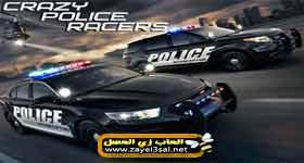 تحميل لعبة سباق سيارات الشرطة المجنونة كاملة للكمبيوتر , Download Crazy Police Racers Racing games