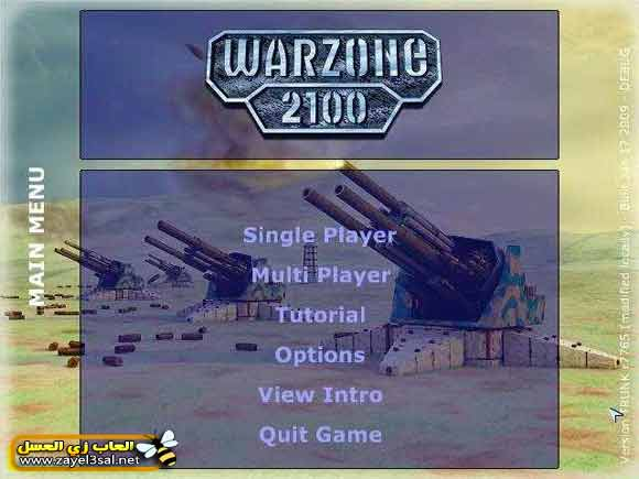 download warzone 2100 free war game