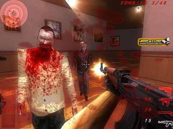تحميل لعبة الزومبي Zombie Outbreak Shooter للكمبيوتر