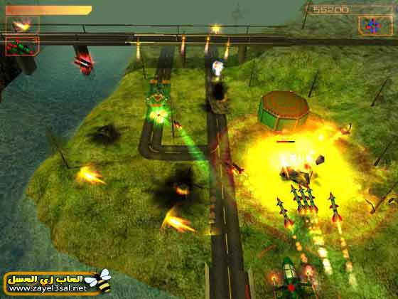 لعبة الهليكوبتر Helicopter Strike 3D للكمبيوتر