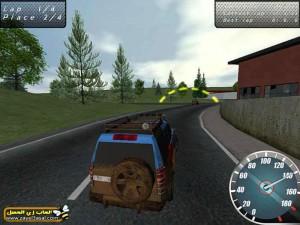 لعبة سباق السيارات الجيب على الطرق الوعرة