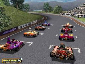 لعبة عربيات السباق والسرعة Open Karts للكمبيوتر