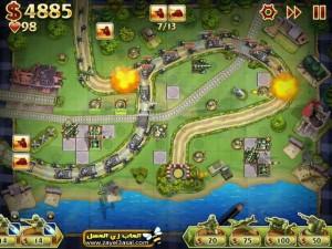 لعبة الحرب الاستراتيجية Toy Defense 2