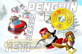 تحميل لعبة مغامرات البطريق Penguin vs Yeti للكمبيوتر
