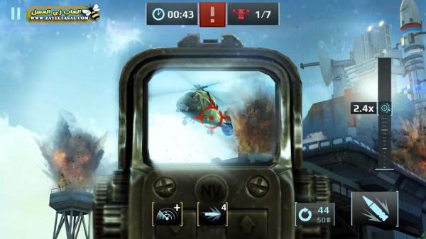 تحميل لعبة Sniper Fury
