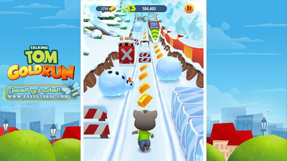 لعبة Talking Tom Gold Run