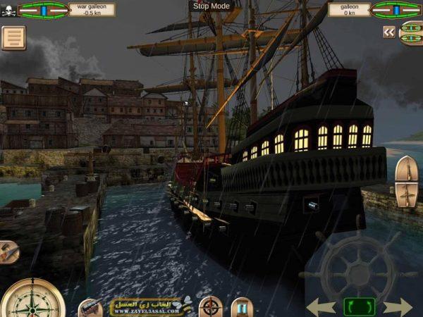 لعبة قراصنة الكاريبي