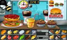 لعبة برجر , العاب طبخ للبنات , لعبة المطعم