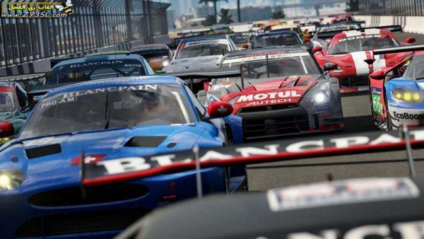 محاكاة قيادة سيارات السباق الحقيقية