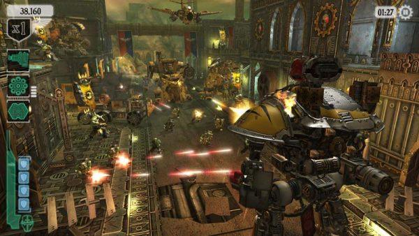 لعبة حرب المطرقة Warhammer 40K