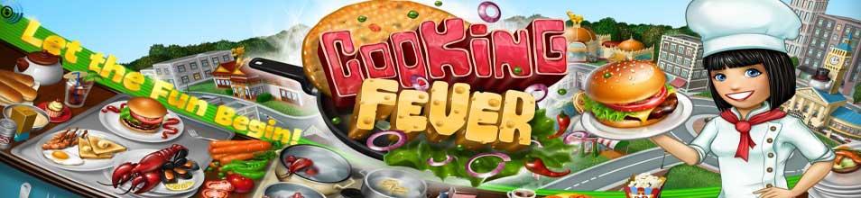 لعبة حمى الطهي Cooking Fever