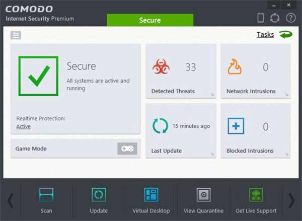 كومودو إنترنت سكيورتي Comodo Internet Security 2020 للكمبيوتر