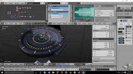 برنامج بلندر Blender 2020 للتصميم ثلاثي الأبعاد و صناعة الأنيميشن كامل للكمبيوتر