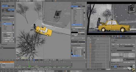 صناعة القصص القصيرة و الرسم 2D في 3D