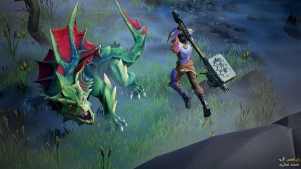 صور من لعبة Dauntless